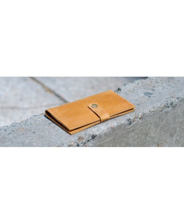 Кожанное портмоне W005 - Bagllet