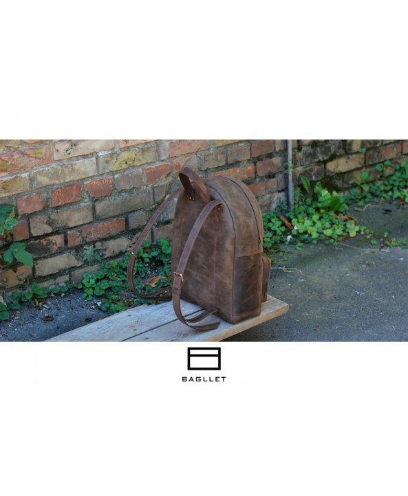 Кожанный рюкзак P022 - Bagllet