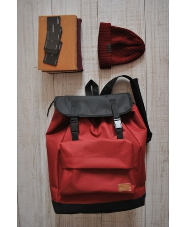 Рюкзак Backpack Claret красно-черный - EasyEasy