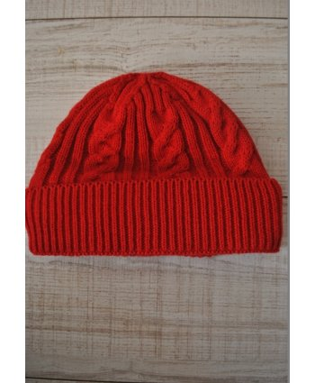 Вязаная шапка Knit Red - EasyEasy