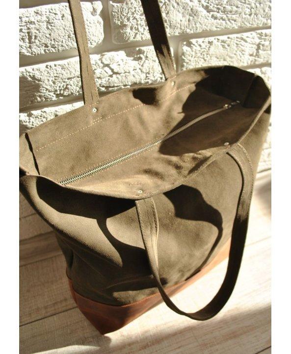Женская кожаная сумка Shopper - EasyEasy