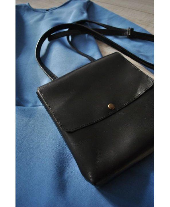 Кожаная сумка на кнопке BlkBag - EasyEasy