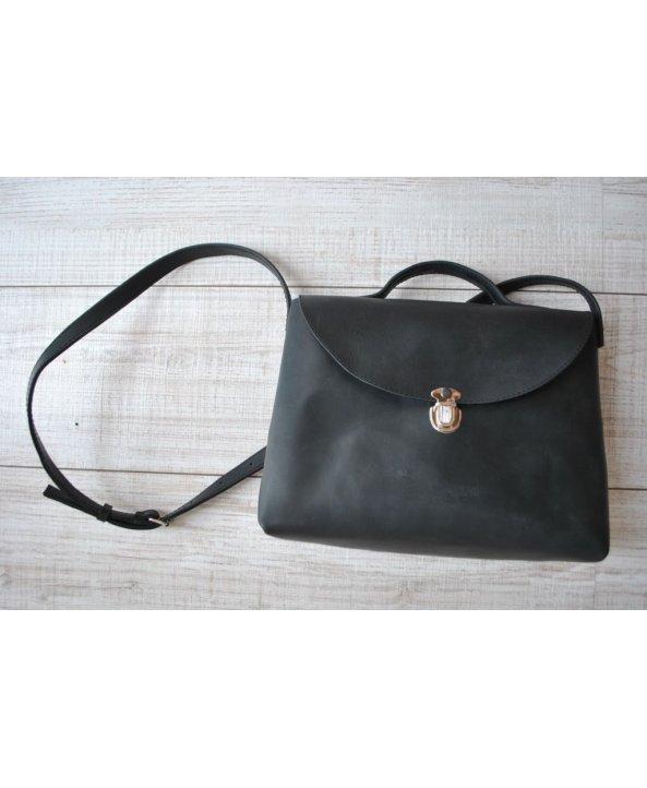Женская сумочка на замочке Smooth Blk - EasyEasy