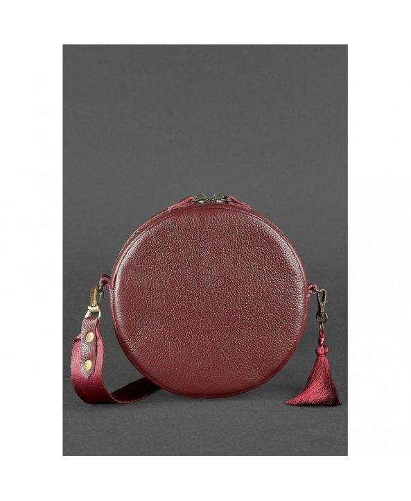 7068704c153f Круглая сумочка Tablet Марсала - Blanknote   Интернет-магазин ...
