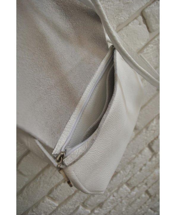 Кожаная сумочка на молнии - EasyEasy