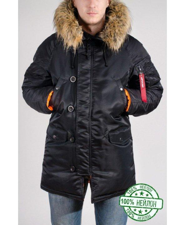 Зимова парка Аляска N-3B Slim Fit нейлон - Olymp  10805ea3e9e89