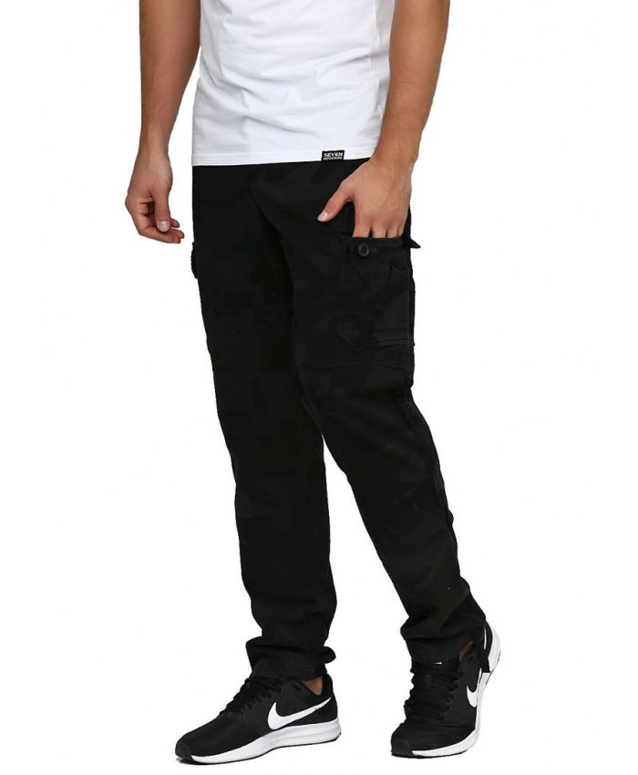 6010d844 Карго штаны Shadow Cargo Pants/ black camo - Seven Mountains