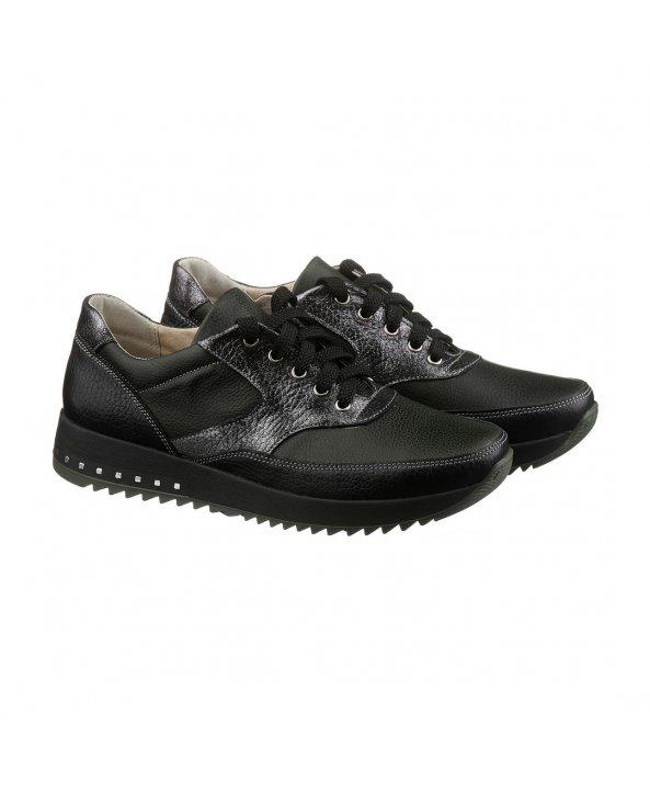 Темні кросівки з срібними вставками - Villomi ... b585e3a9bd75e