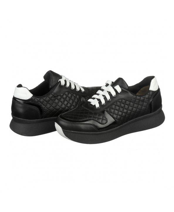 ... Чорні жіночі кросівки на високій підошві - Villomi ... 97cd45ddda936