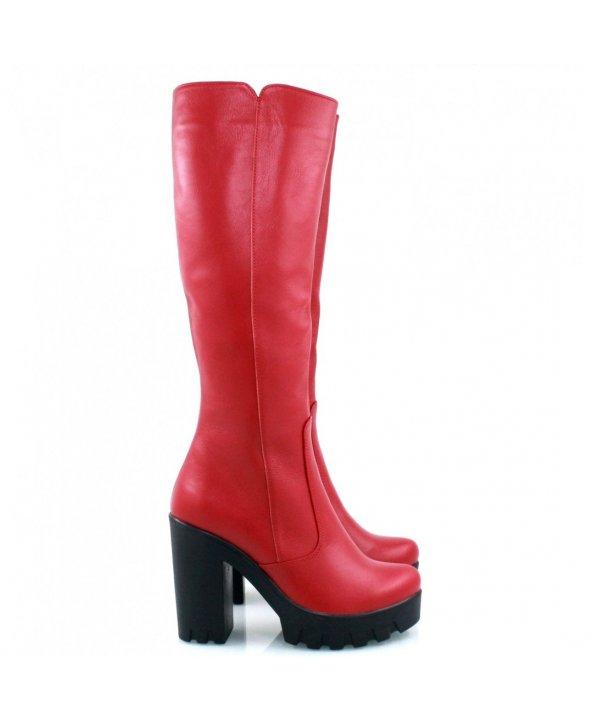 Червоні чоботи 818-09k - Villomi ... 5ec234a5ad1a3