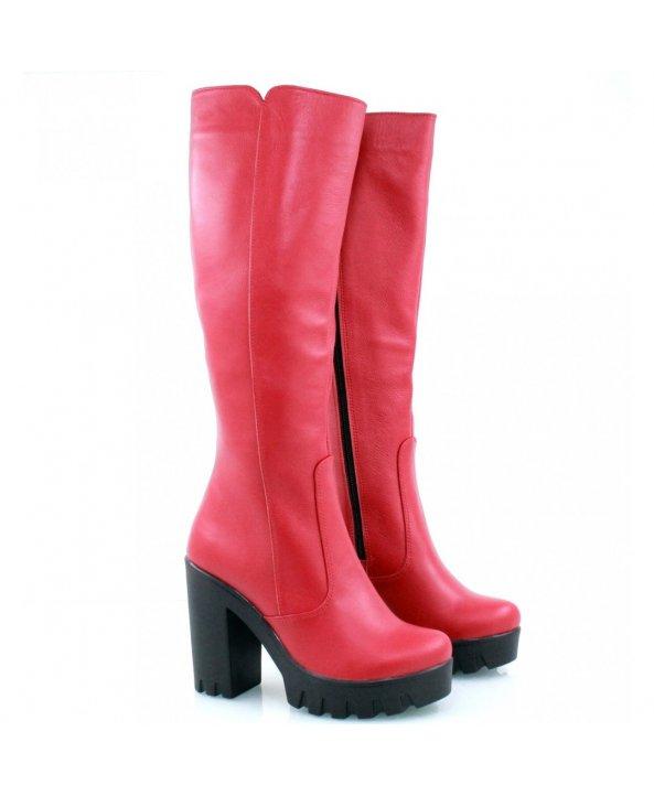 ... Червоні чоботи 818-09k - Villomi ... d24e1e7f10254