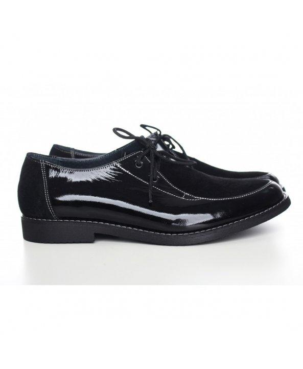 Жіночі чорні лакові туфлі 857-01л - Villomi ... d4c1b52765a87